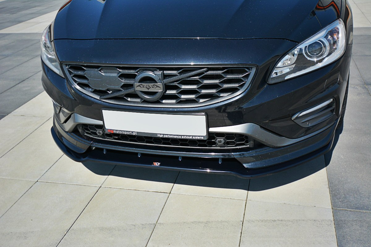 Splitter Przedni V.1 Volvo V60 Polestar Facelift - GRUBYGARAGE - Sklep Tuningowy